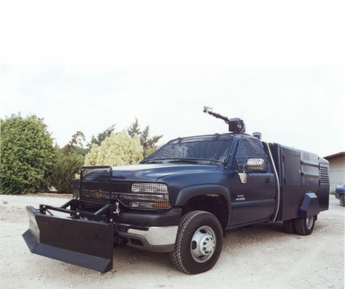Riot police  truck: SECPRO 2500  ,water riot canon