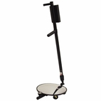 Salient Model 3000N Search Mirror with Lamp and Castor Wheels