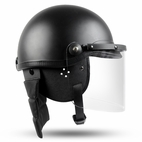 Secpro Police Riot Helmet w/ Faceshield