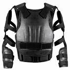 SECPRO Police Ultimate Anti-Riot Vest XT - Shoulders and Arms