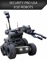 SECURITY PRO USA EOD ROBOTS