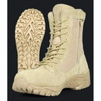 Smith and Wesson SW8TZ Suede Zipper Tactical Boots