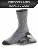 Outdoor Hiking Socks & Gloves