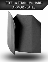 Steel & Titanium Hard Armor Rifle Plates and Side Armor