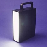 Ultra violet   black light  hand lamp w/ Euro charger - secpro eod  Ultra violet   black light  handlamp