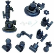 13150: PanaVise ActionGrip 3-N-1 Suction Cup Windshield Mount Kit fits GoPro