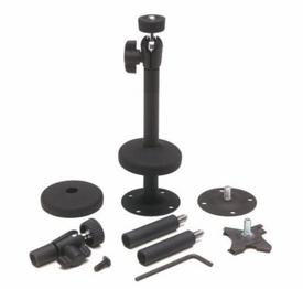 845-246: PanaVise Deluxe Micro Mount for CCTV Camera (Black)