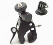 "BGP73+DCGO: Quick Install Clamp Bicycle Handlebar Mount for GoPro camera (fits 0.75 ~ 1.75"" dia)"