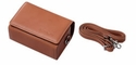 Casio Exilim Zoom EX-P600, EX-P700 Custom Leather Case with Strap from Japan