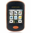 EGOMAN MG350 Color Touch Screen Handheld Sport GPS with Bike Mount