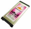 ExpressCard 12-in-1 Memory Card Reader/Writer