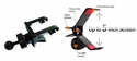 """GA-UVM+IG-A03: Spring Vent Mount with Universal bracket/cradle for GPS, SmartPhone up to 5"""" screen"""