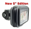 "GN032+WPCS-5: Bicycle / Handlebar Mount & Case for Garmin, TomTom, Magellan GPS with 5"" screen"