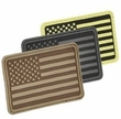 Hazard 4 Bags: USA Flag (Left Arm) Morale Patch (Choose from 4 colors)