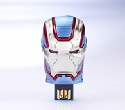 infoThink x Marvel Ironman 3 Iron Patriot Mask 8GB USB Flash Drive