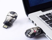 infoThink x Marvel Ironman 3 War Machine Mask 8GB USB Flash Drive