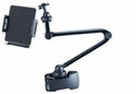 ME-CLP02L+ME-UTM: 25 inch long Universal clamp mount w/ holder for iPad Tablets