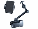 "ME-CLP02S+ME-UTM: 11 inch long Universal clamp mount w/ holder for Tablet up to 10.2"" screen (Compatible with iPad, iPad Mini, Galaxy Tab, Kindle etc.)"