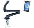 "ME-CLP04+ME-UTM2: 23 inch C-Clamp Mount with holder for Tablet up to 9.7"" screen (Compatible with iPad, iPad Mini, Galaxy Tab, Kindle etc.)"