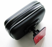"ME-VHB+WPCS: Universal Motorcycle Gas Tank Mount with Case for 4.3"" or 3.5"" Screen GPS Devices"