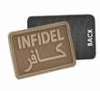 Morale Patch - Infidel (Coyote or Black or Green)