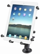 RAM-B-101-C-UN9U: RAM Flat Surface Mount with Universal X-Grip� III Holder for Large Tablets (Sold Out)