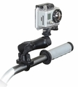"RAM-B-149Z-GOP1U: RAM Handlebar Rail Mount, Zinc Coated U-Bolt & 1"" Diameter Ball with Custom GoPro� Hero Adapter"