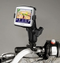 RAM-B-149Z-TO7U: Bike / Motorcycle Handlebar Mount for TomTom ONE 130 & ONE 130S