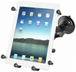 RAM-B-166-UN9U: RAM Twist Lock Suction Cup Mount with Universal X-Grip� III Holder for Large Tablets