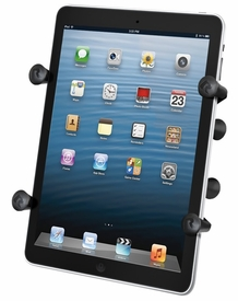 """RAM-HOL-UN8BU: RAM Universal X-Grip� II Tablet Holder with 1"""" Ball for Small Tablets"""