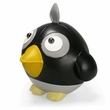 Zuny Cicci Crow Animal Bookend - Black/Gray