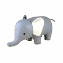 Zuny Classic Elephant Animal Bookend - Blue