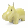 Zuny Classic Hippo Animal Bookend - Cream