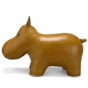Zuny Classic Hippo Animal Bookend - Tan