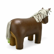 Zuny Classic Horse Animal Bookend - Brown