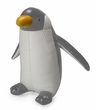 Zuny Classic Penguin Animal Bookend - Gray/White