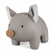 Zuny Classic Pig Animal Bookend - Gray