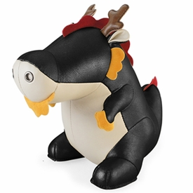 Zuny Dragon ( Ron ) Animal Bookend - Black
