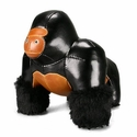 Zuny Gorilla (Milo) Animal Bookend -  Black