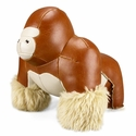 Zuny Gorilla (Milo) Animal Bookend - Tan