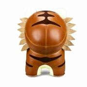 Zuny Tiger ( Mateo ) Animal Bookend - Tan