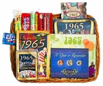 50th Anniversary Gift Basket for 1965