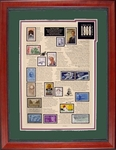 50th Anniversary Stamp Art Honoring 1966 or 1967- Save 50%!
