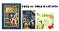 50th Anniversary Package CD, DVD, Book for 1963 or 1964