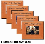 Frame for Year Born or Married for Seniors