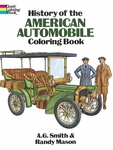 History of the American Automobile Coloring Book for Seniors