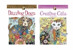 Pet Coloring Book Set of Two- Dogs & Cats