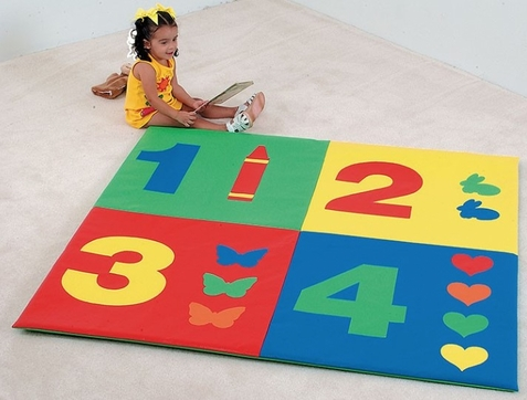1-2-3-4 Toddler Activity Mat