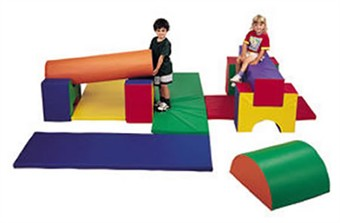 11 Piece Soft Play Jr. Gym Set