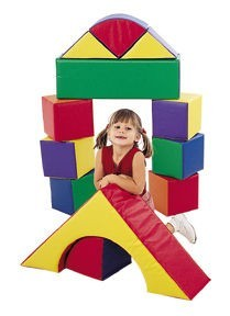 12 Piece Soft Block Set for Toddlers